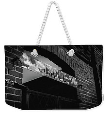 Weekender Tote Bag featuring the photograph Off To Jail by Doug Camara