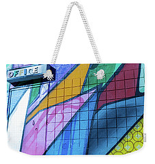 Office Weekender Tote Bag by Lora Lee Chapman