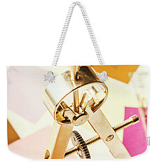 Office Plan Draft Weekender Tote Bag