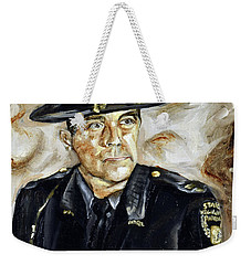 Officer Demaree Weekender Tote Bag