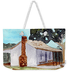 Officer Quarters At Fort Martin Scott Weekender Tote Bag by R Kyllo