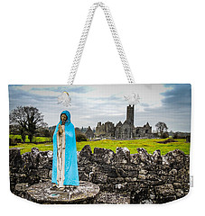 Official Greeter At Ireland's Quin Abbey National Monument Weekender Tote Bag