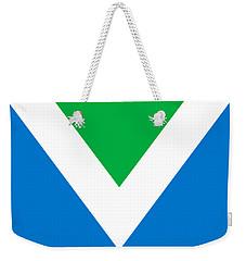 Official Vegan Flag Weekender Tote Bag