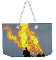 Offshore Flames Weekender Tote Bag