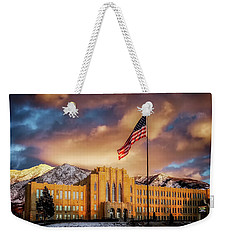 Ogden High School At Sunset Weekender Tote Bag