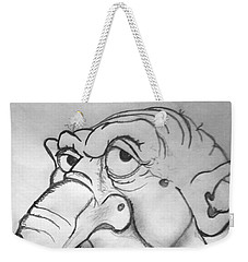 Ogre Sketch Weekender Tote Bag by Yshua The Painter