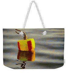 Weekender Tote Bag featuring the painting Oh Buoy by Jeff Kolker