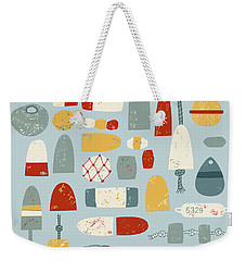 Oh Buoy Weekender Tote Bag by Nic Squirrell