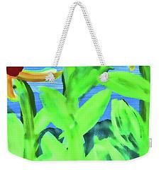 Oh Glorious Day Floral Weekender Tote Bag