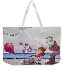 Oh My Bubbles Weekender Tote Bag by Geni Gorani