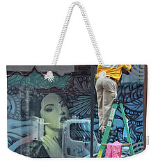 Oh My Weekender Tote Bag by Joe Jake Pratt
