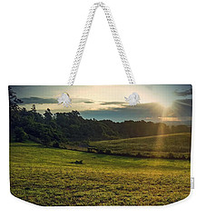Weekender Tote Bag featuring the photograph Oh What A Beautiful Morning by Kendall McKernon