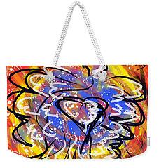 Oh, Winged World Weekender Tote Bag by Jason Nicholas