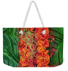 Ohai Ali'i With Pele's Hair Weekender Tote Bag