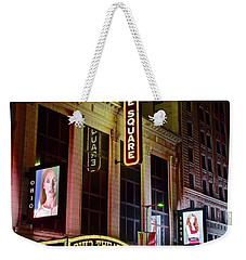 Weekender Tote Bag featuring the photograph Ohio And State Theater by Frozen in Time Fine Art Photography