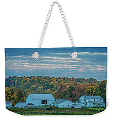 Ohio Farm Weekender Tote Bag