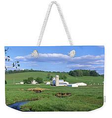 3d203 Ohio Farm Photo Weekender Tote Bag