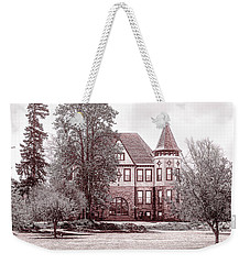 Weekender Tote Bag featuring the photograph Ohio Veterans Home by Mary Timman