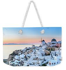 Oia, Santorini - Greec Weekender Tote Bag