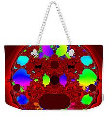 Weekender Tote Bag featuring the digital art Oidivoclus by Andrew Kotlinski
