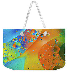 Oil And Water 10 Weekender Tote Bag by Jay Stockhaus