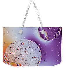 Weekender Tote Bag featuring the photograph Oil And Water 2017 by Kevin Blackburn
