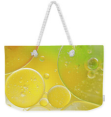 Oil And Water Bubbles  Weekender Tote Bag