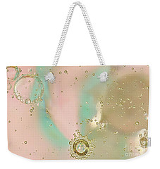 Oil And Water Jewels Weekender Tote Bag