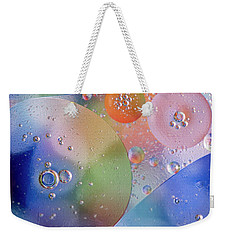 Oil In Water Weekender Tote Bag by Kevin Blackburn