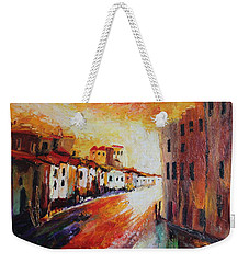 Oil Msc 013 Weekender Tote Bag