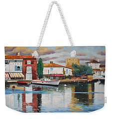 Oil Msc 019 Weekender Tote Bag