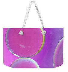 Oil On Water Abstract Weekender Tote Bag