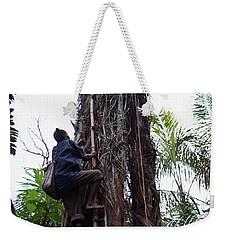 Oil Palm Tree Weekender Tote Bag