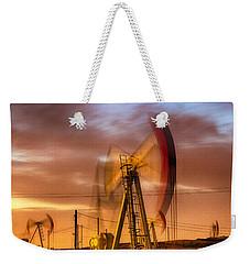 Oil Rig 1 Weekender Tote Bag