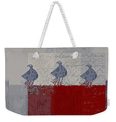 Oiselot - J106161103_02bb Weekender Tote Bag by Variance Collections