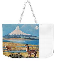 Ojos Del Salado Volcano Weekender Tote Bag