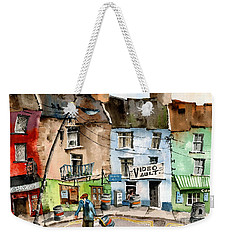 Ok Wheres The Party. Clifden, Galway. Weekender Tote Bag