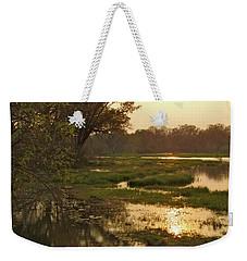 Okavango Delta Gold Weekender Tote Bag