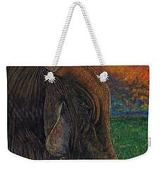Okeechobee Brahman Weekender Tote Bag by David Joyner