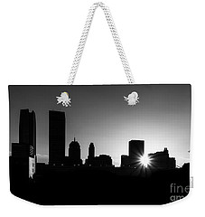 Weekender Tote Bag featuring the photograph Oklahoma City by Betty LaRue