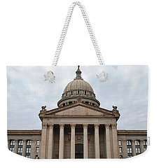 Oklahoma State Capitol - Front View Weekender Tote Bag