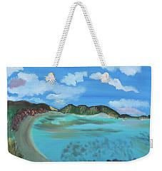 Okinowa Beach Reflections Weekender Tote Bag by Meryl Goudey