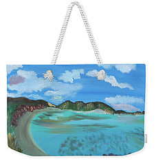 Okinowa Beach Reflections Weekender Tote Bag