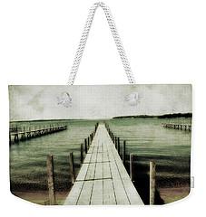 Okoboji Docks Weekender Tote Bag