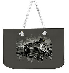 Old 104 Steam Engine Locomotive Weekender Tote Bag by Thom Zehrfeld