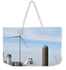 Old And New Farm Site Weekender Tote Bag