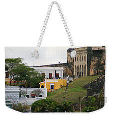 Old And New Weekender Tote Bag by Lois Lepisto