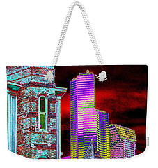 Old And New Seattle Weekender Tote Bag by Tim Allen