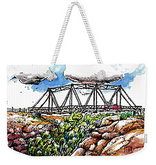 Old Arizona Bridge Weekender Tote Bag