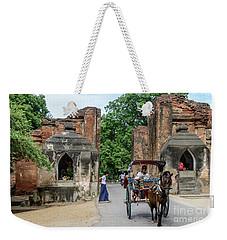 Old Bagan Weekender Tote Bag by Werner Padarin
